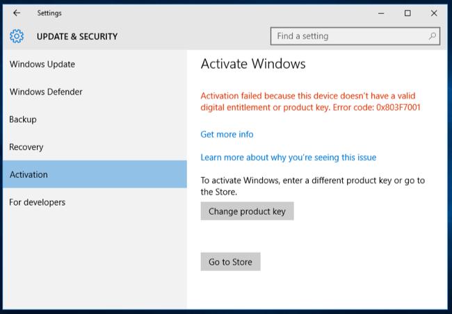 Windows 10 Pro OEM license Key Pack Download For 32/64 Bit